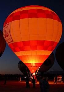 Hot Air Balloon at Night   Balloons   Pinterest   The ...