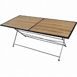Table Exterieur Pliante : table bois pliante exterieur table balcon maison boncolac ~ Teatrodelosmanantiales.com Idées de Décoration