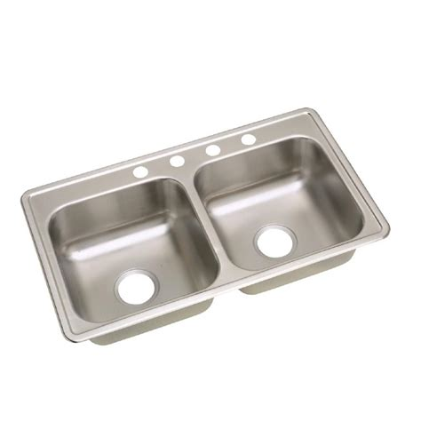 neptune kitchen sink elkay neptune drop in stainless steel 33 in 4 1065