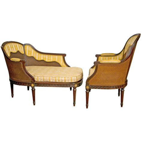 chaise louis xiv louis xiv style two chaise for sale at 1stdibs