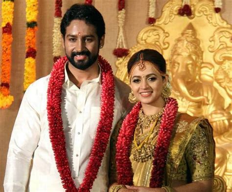 malayalam actress bhavana wedding  tied knot