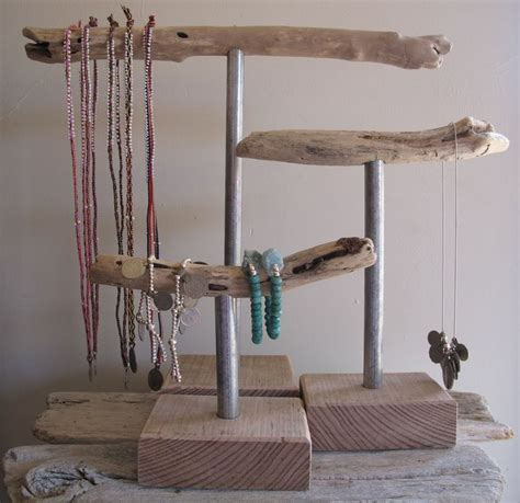 Image Of Driftwood Jewellery Stands Crafts Pinterest