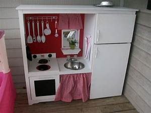 Play Kitchen From Entertainment Center   Posted by The ...
