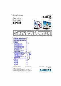 Philips Chassis Q552 4ela 46pfl5507t 5500