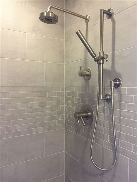 25 best ideas about large tile shower on