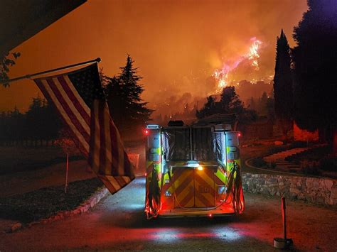 Smoke From El Dorado Fire May Affect Riverside County Air