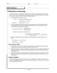 Output Force Lesson Plans & Worksheets Reviewed By Teachers