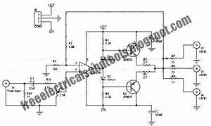 Free Schematic Diagram  Video Distributor Amplifier Circuit
