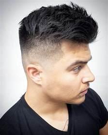 coupe cheveux homme dessus court cotã coiffure homme degrade fondu