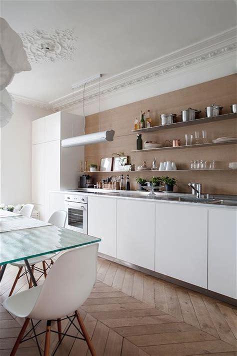 cuisine d appartement cuisine d 39 un appartement haussmannien à desiron lizen
