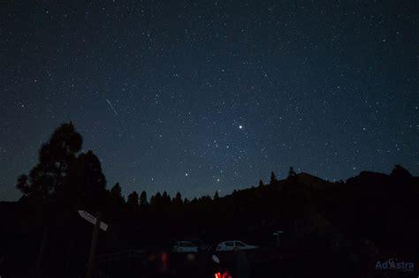 Under The Night Sky In La Palma