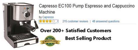 Capresso Espresso Machine Nespresso Coffee Pods Stockists Nestle Mate Sugar Free Redwood Driftwood Table Side Effects Starbucks Jelly Grande Price In Noida Jual Varieties