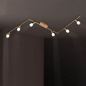 Led Fluter Wohnzimmer : deckenstrahler led deckenlampe strahler lampe leuchte deckenleuchte spot wofi ebay ~ Sanjose-hotels-ca.com Haus und Dekorationen
