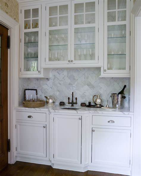 Bar Sink And Cabinets by Bar Sink Transitional Kitchen Thornton Designs