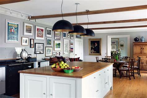 country kitchen ideas uk modern country kitchen with shaker style island kitchen design ideas houseandgarden co uk
