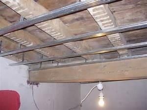 Faux Plafond Pvc : quel placo pour faux plafond isolation id es ~ Premium-room.com Idées de Décoration
