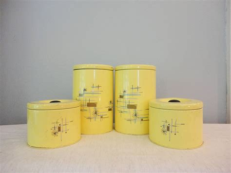 Vintage Kitchen Canisters by Reserved Listing For Angela Kitchen Kitchen Canisters