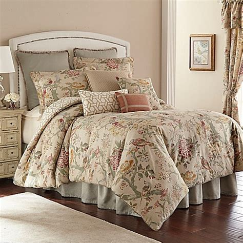 rose tree comforters tree biccari reversible comforter set bed bath beyond