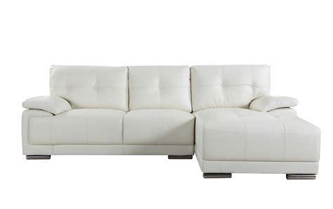 White Leather Sofa Ebay by Classic Tufted Bonded Leather Sectional Living Room Sofa