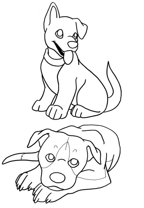 printable puppies coloring pages  kids