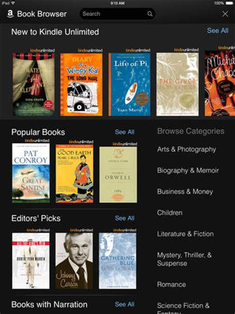 kindle app for iphone kindle for ios update 4 9 adds hyphens bookerly font and