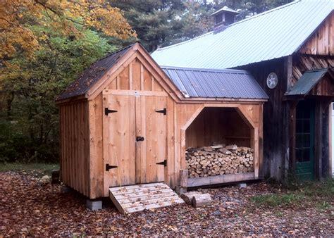 firewood storage shed garbage  storage shed