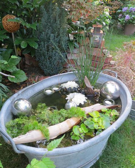 Miniteiche Und Wasserspiele by Deko Ideen Shabby Chic F 252 R Den Garten Gartenideen