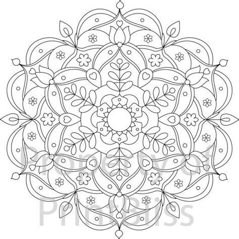 The 25+ Best Mandala Printable Ideas On Pinterest  Mandala Colouring Pages, Colouring Pages For