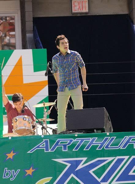 David Archuleta Arthur Ashe Kids Day Performance • mjsbigblog