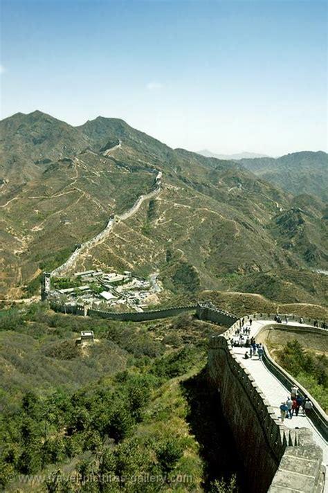 Pictures of China - Great-Wall-0023 - winding wall at Badaling