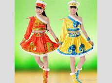 2018 Hot Sale Children'S National Costume Mongolian Skirt