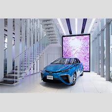 Showroom Für Toyota Mirai Alternativantriebe