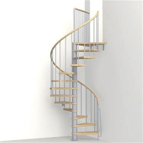 arke 47 in grey spiral staircase kit k07142 the
