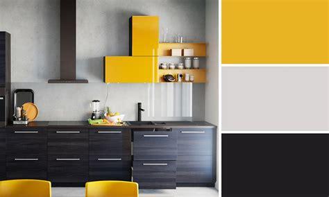 cuisine jaune et gris charmant cuisine mur et gris 11 quelles couleurs