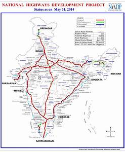National Highway Development Project Map