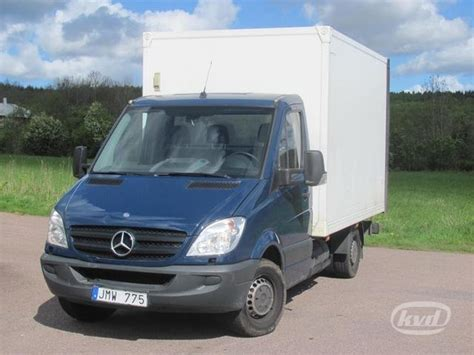 Closed Box Delivery Van Mercedes Sprinter 316 Ngt