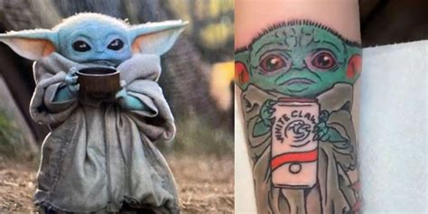 Permalink to Baby Yoda Tattoo White Claw