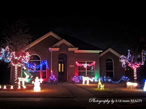 panther creek estates frisco tx lights