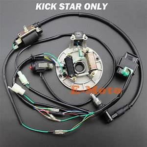 Full Wiring Harness Loom Ignition Coil Regulator Cdi Kill