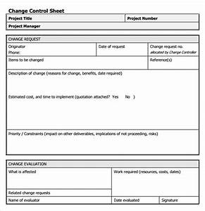 8 change request samples sample templates for Documents for change management