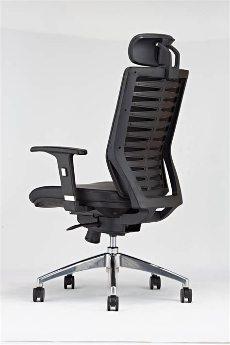 Office Chairs Neck Support by Korea Pu Leather Fashionable Executive Office Chairs With