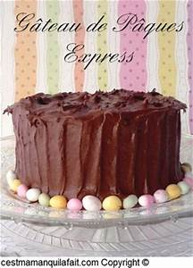 Dessert Paques Original : c 39 est maman qui l 39 a fait g teau de p ques au chocolat d licieux facile ~ Dallasstarsshop.com Idées de Décoration