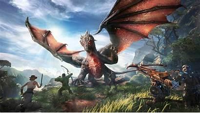 Ark 4k Park Wallpapers Dragon Games Backgrounds