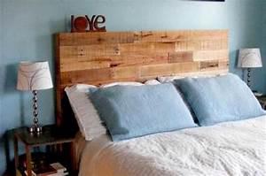 Testate del letto economiche in pallet di legno bcasa for Testate letto legno