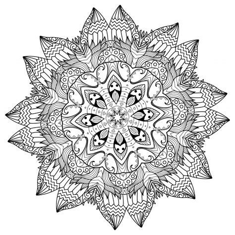 printable coloring pages mandala templates