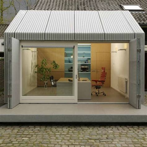 delightful shop garage plans garage turned into delightful small office in eindhoven