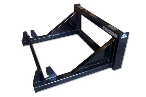 skid steer sod roller blue diamond attachments