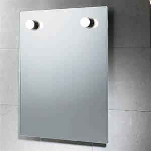 stunning glace salle de bain avec luminaire photos With miroir salle de bain avec lampe
