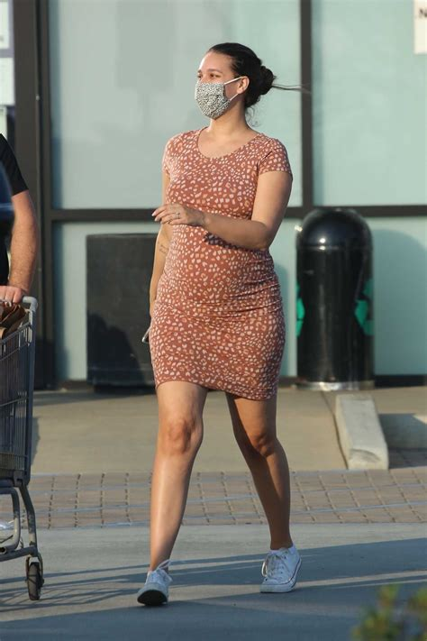 april love geary   tan dress  grocery shopping