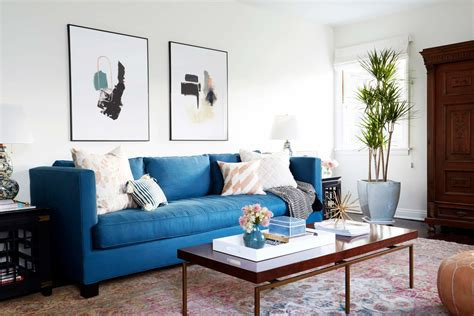 Emily Hendersons Living Room by Let Your Sofa Make A Statement 161 Colour Your Casa